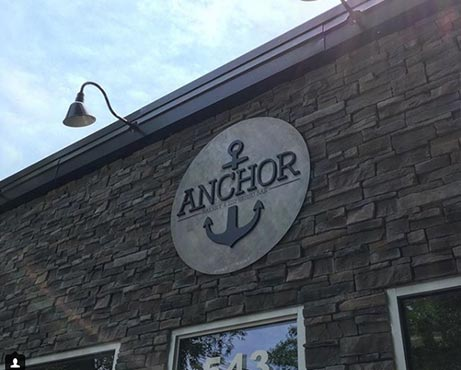 Anchor Storefront Sign