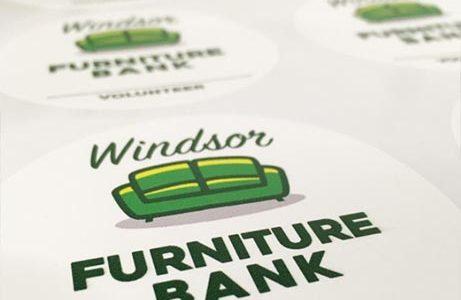 Windsor Furniture Bank Decals