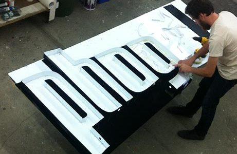 Phog Backlit Sign