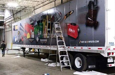 Truck Trailer Full Wrap